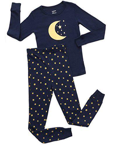 4afaf0dc60c Leveret Moon   Stars 2 Piece Pajama Set 100% Cotton 18-24 Months ...