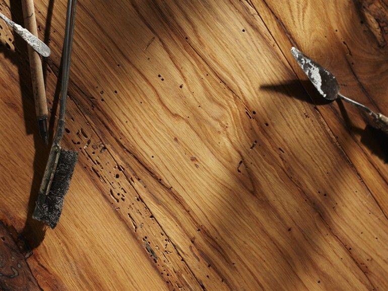 Realizzare un parquet con legno di recupero