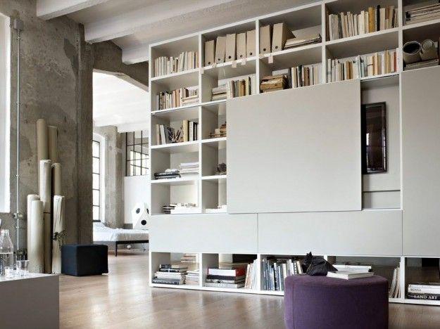 Librerie componibili modulari Meuble salon design