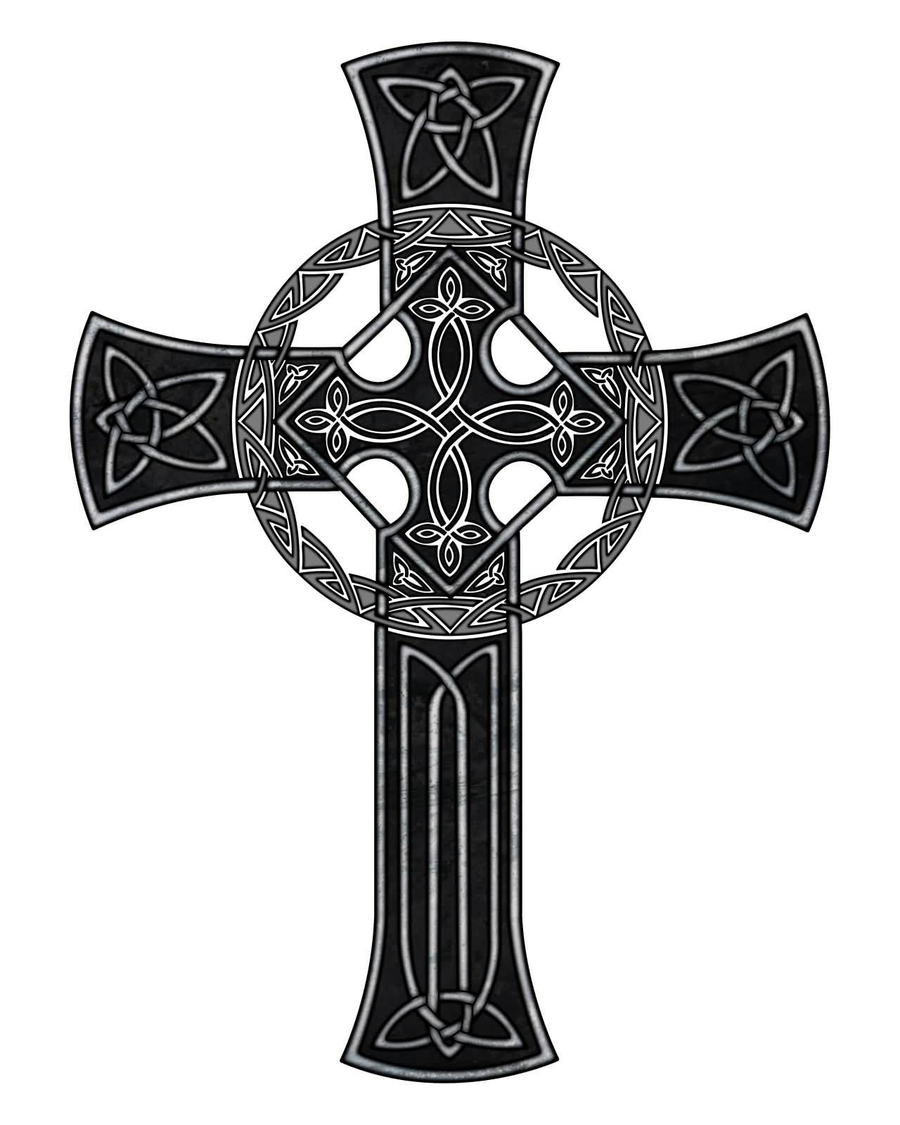 wonderful black celtic cross tattoo design tattoo pinterest celtic cross tattoos cross. Black Bedroom Furniture Sets. Home Design Ideas
