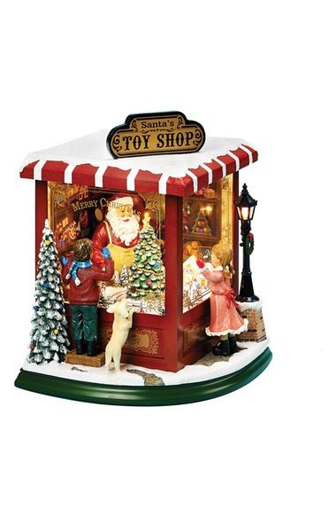 Roman Musical Light-Up Christmas Toy Shop Decoration Street Styles - christmas carousel decoration