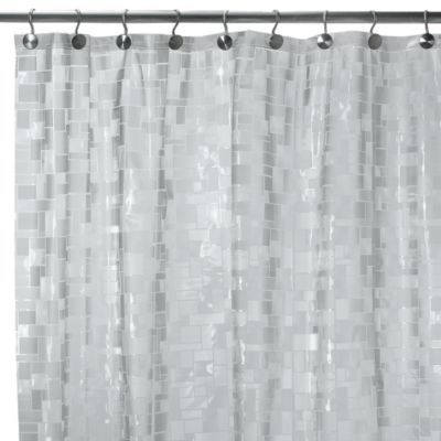 Ice Cubes Vinyl 70 Inch W X 72 L Shower Curtain