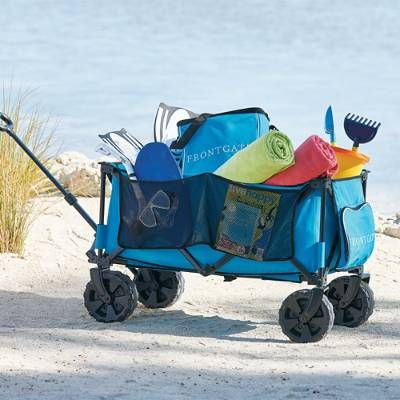 This Rugged Wagon Reduces Your Number Of Trips Hauling Gear Then Folds Compactly To
