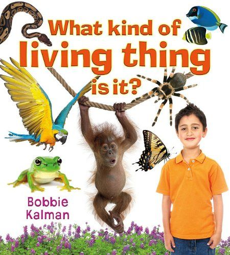 What Kind of Living Thing Is It? (Introducing Living Things (Paperback)) by Bobbie Kalman http://www.amazon.com/dp/0778732592/ref=cm_sw_r_pi_dp_DkoYwb096186A
