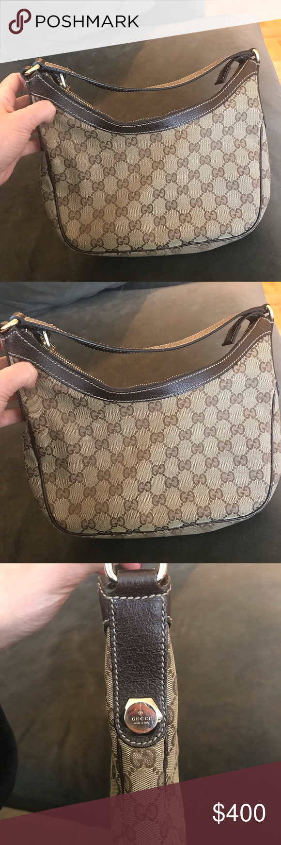 2be79df767c0 authentic Gucci purse Gucci authentic vintage. Excellent condition with a  spot of discoloration (view in first photo). Also a tiny bit of usage in  bottom ...