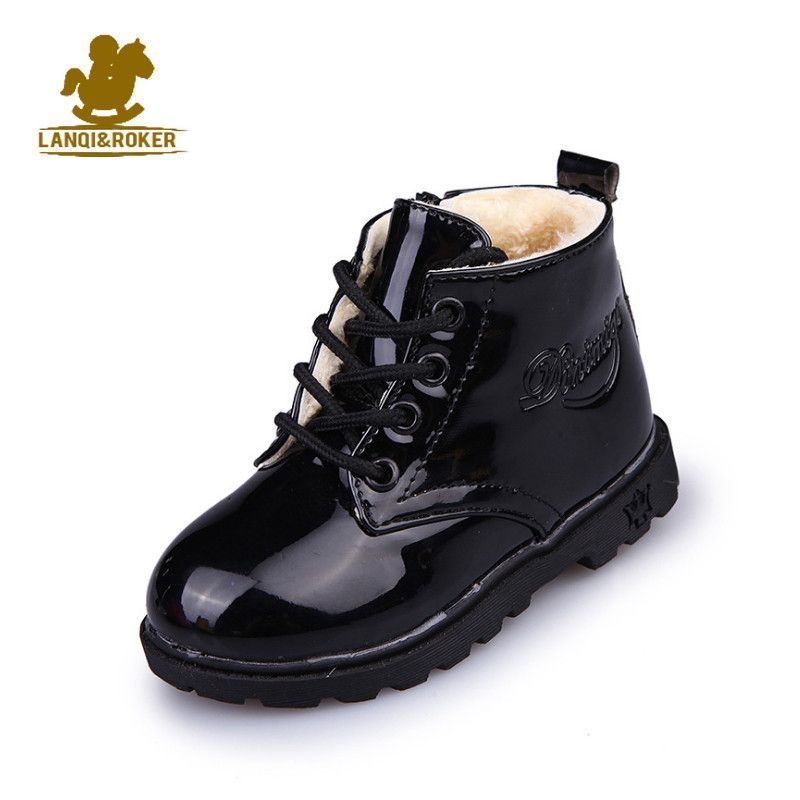 Fashion Kids Baby Toddler Girls Boys Autumn Winter Martin Boots Shoes Sneakers