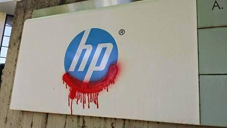 Por qué boicotear a #HP?  HP ha suministrado servicios y tecnología a las fuerzas militares de #Israel entre ellas la administración de la infraestructura de informática a la marina israelí. La fuerza naval de Israel somete a la Franja de #Gaza a un #bloqueo marítimo desde 2007. Fuente: http://ift.tt/2fwl40o
