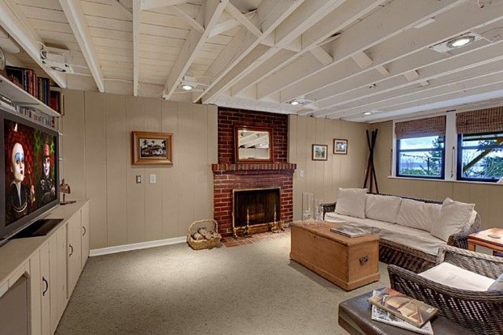 unfinished basement ceiling paint. That is about painted basement ceiling ideas Photographs summarized by  admin and good friends as a contributor upon this web exposed on pinterest ceilings