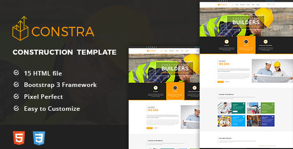 Constra html5 construction business template construction constra html5 construction business template flashek Images