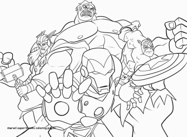 Free Printable Marvel Coloring Pages Printable Coloring Pages To Print Avengers Coloring Pages Avengers Coloring Superhero Coloring Pages