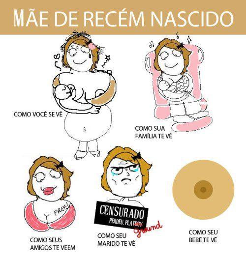 Mãe Recém Nascida Edifilho Baby Breastfeeding E Pregnancy