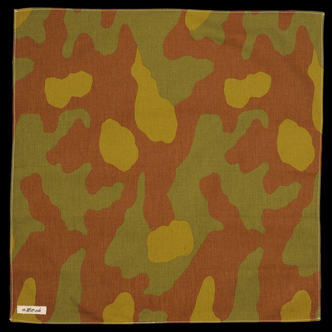 UNIONMADE - The Hill-side - Italian Camouflage Bandana N21-173