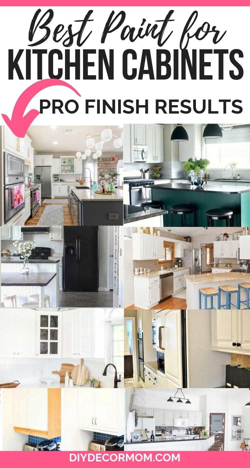 What Is The Best Paint For Kitchen Cabinets See What 17 Kitchen Makeover Diyers Say And The Pai Best Paint For Kitchen Painting Kitchen Cabinets Kitchen Paint