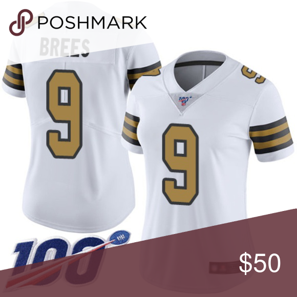 New Orleans Saints 9 Drew Brees Women S Jersey Attention Please All Items Will Need 5 10days Processing Before Shipped Out Please Womens Jersey Jersey Women