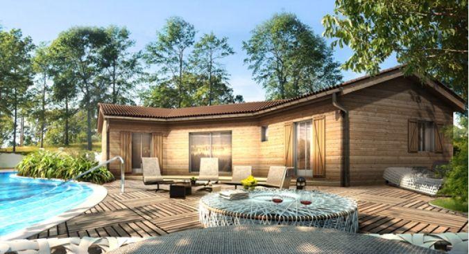 maison bois maddalon - Recherche Google Maison Pinterest