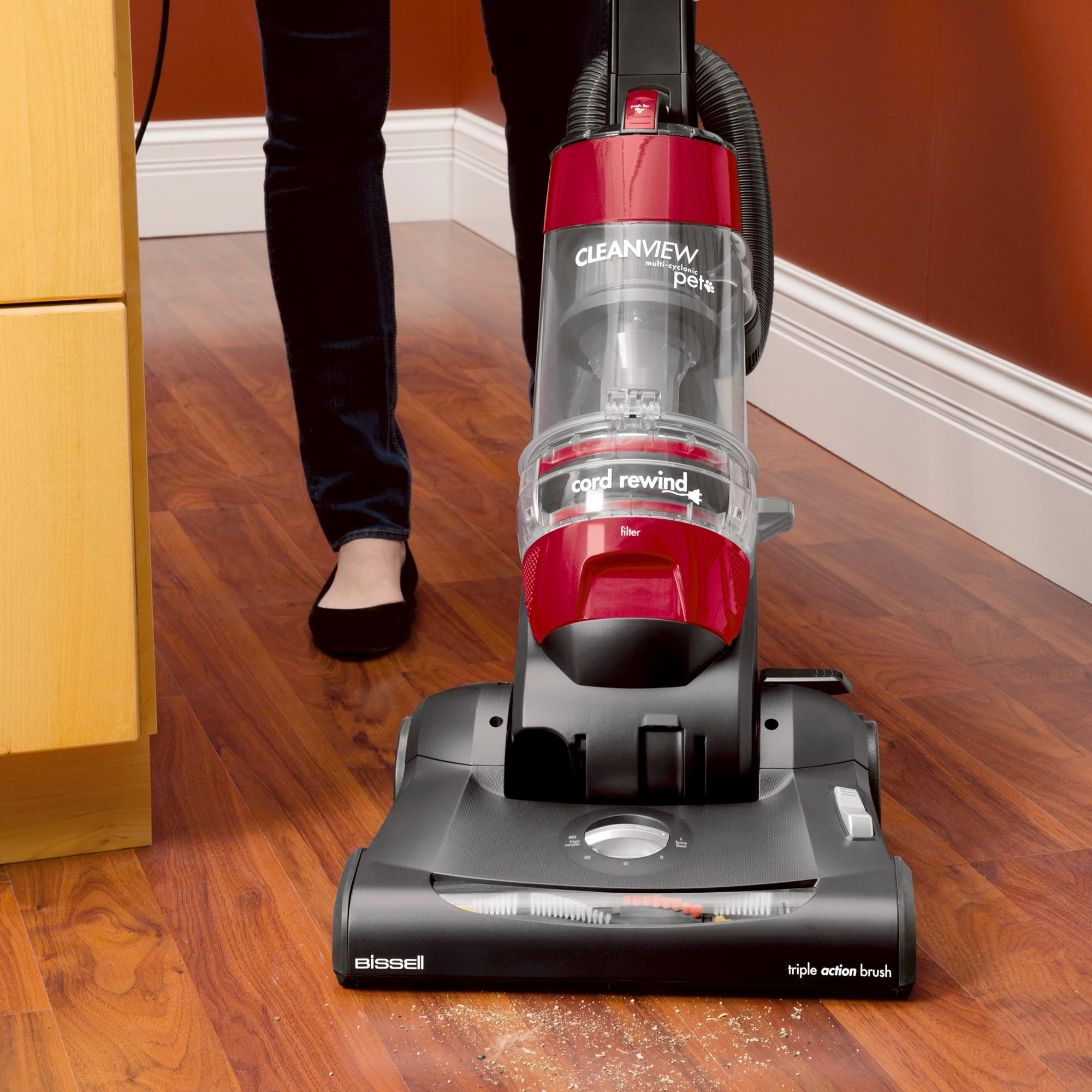 Bissell cleanview complete pet rewind bagless