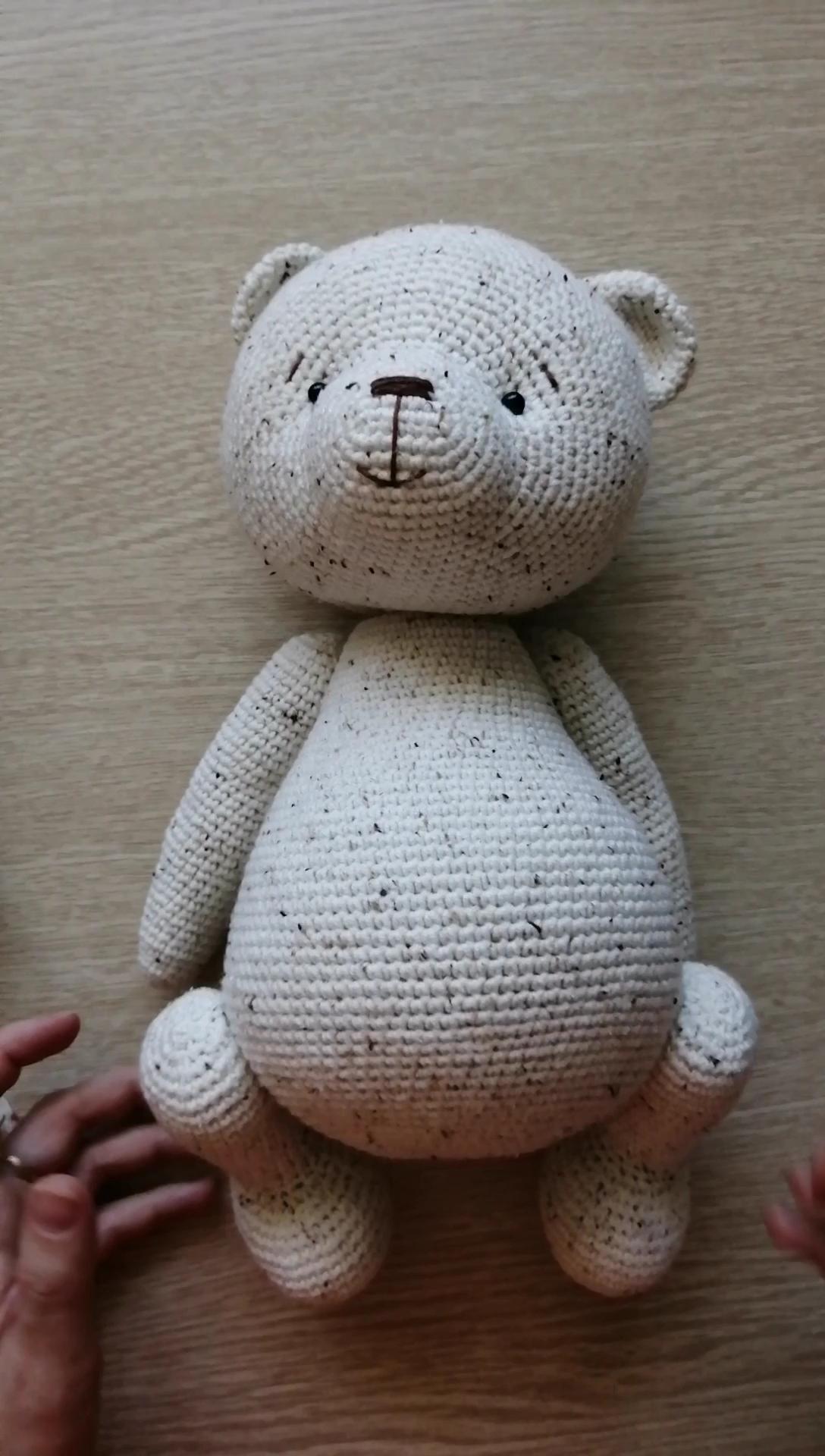 Photo of PATTERN Crochet Teddy bear. PATTERN Amigurumi Teddy bear.