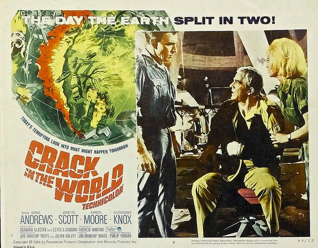 """Crack in the World (Paramount, 1965). Lobby Card (11"""" X 14"""")."""