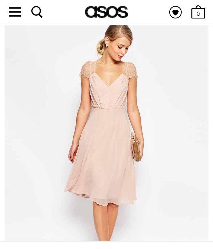 f9a51f8a1c4 Dusty pink lace cap sleeve dress