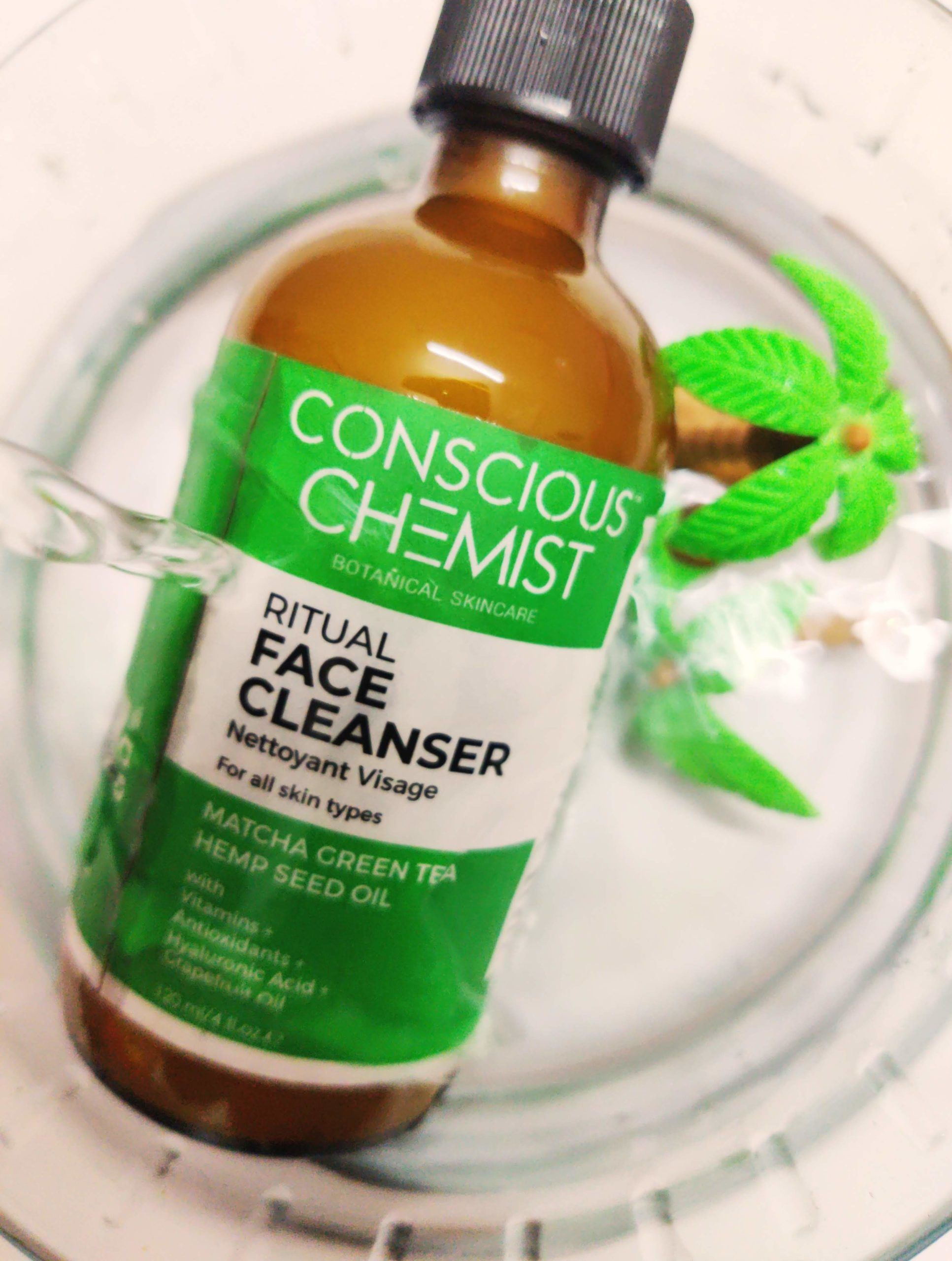 Conscious Chemist ritual face cleanser is packed with
