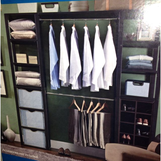 costco portable closet closets pinterest costco. Black Bedroom Furniture Sets. Home Design Ideas