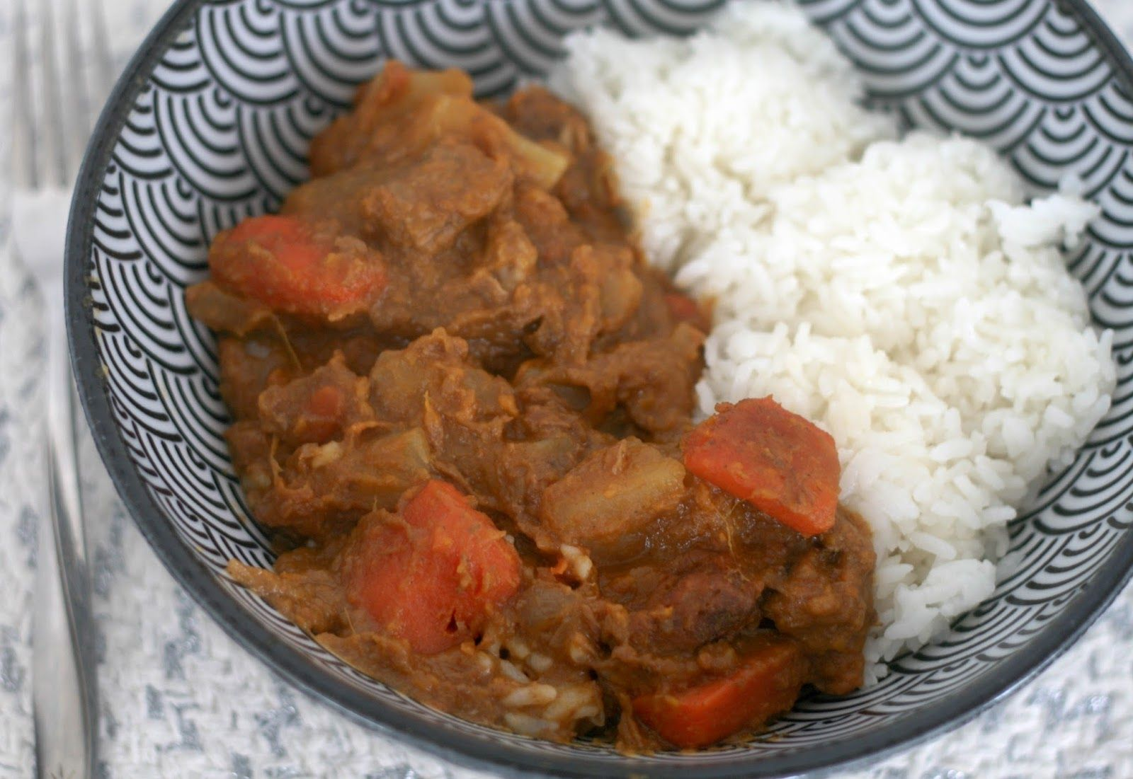 Slow Cooker Japanese Beef Sweet Potato Curry Rice Slow Cooker Curry Japanese Beef Sweet Potato Curry