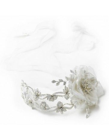 Gorgeous Bridal Accessory.  Wear as a Bridal Sash or Headpiece.  I Thee Bling | Wedding Couture for Every Girl  www.itheebling.com