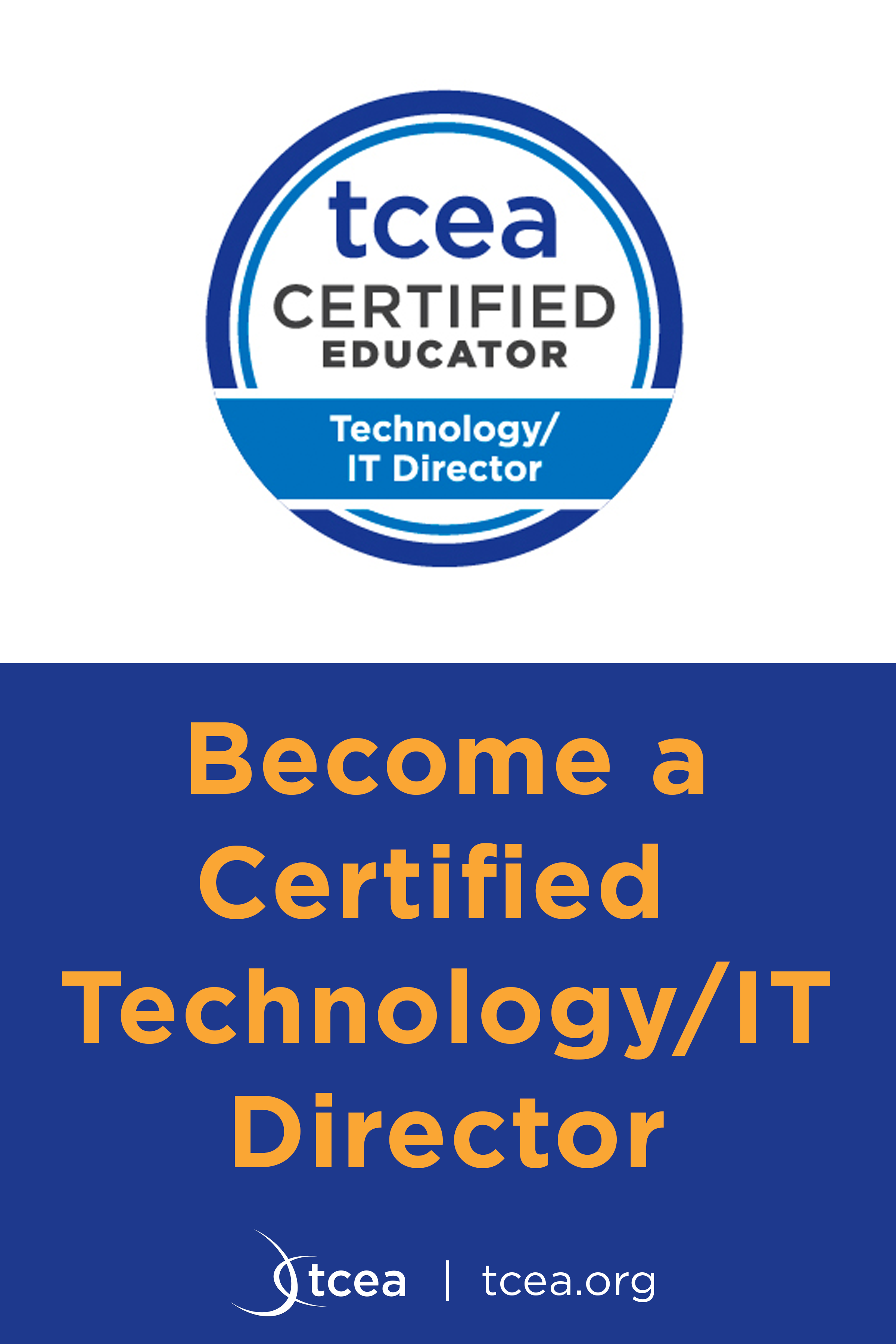 Become A Certified Technology It Director Education Strategic Leadership Educational Technology