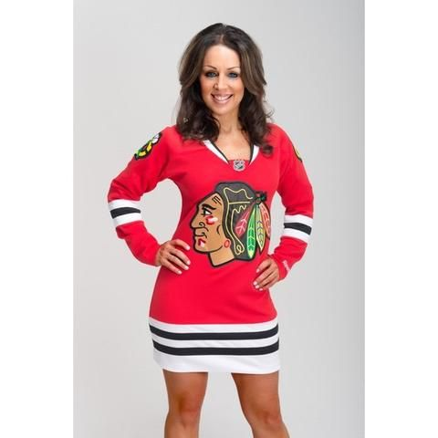 promo code c4bb7 baa61 Chicago Blackhawks Dress | closet/bedroom ideas | Chicago ...