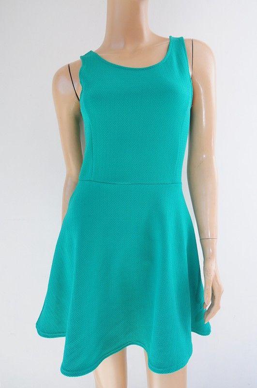 6d43290eb9 Sukienka zielona r. 36 H M - Vinted