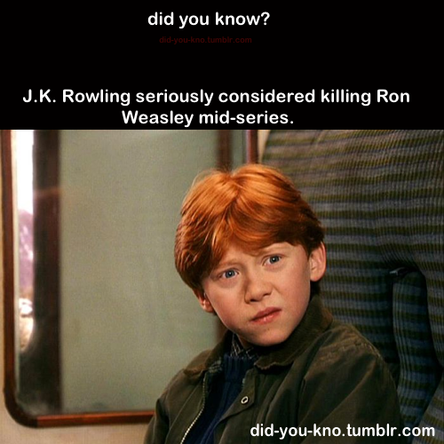 If they did, i would have died. I cried when they killed elf<<<Elf? His name is Dobby, you uncultured swine!