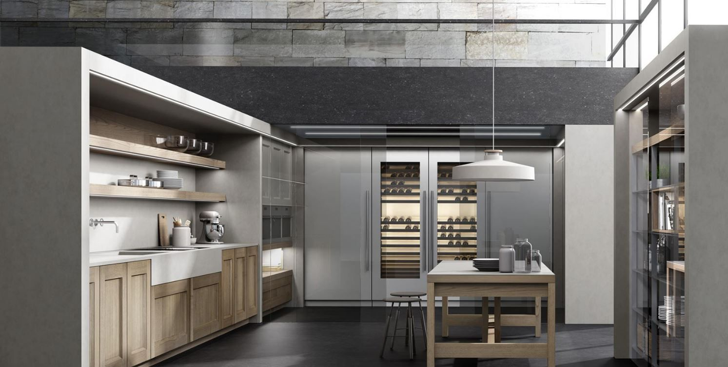 Pin by 4SQUARE DESIGNS on Modern kitchen | Pinterest | Showroom ...