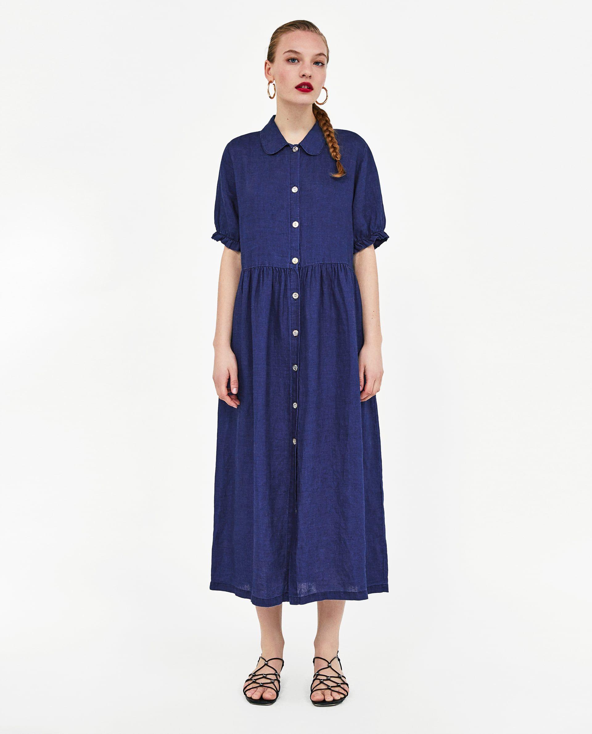 3e74eb1e VESTIDO LARGO LINO | Things to Wear | Linen dresses, Oversized ...