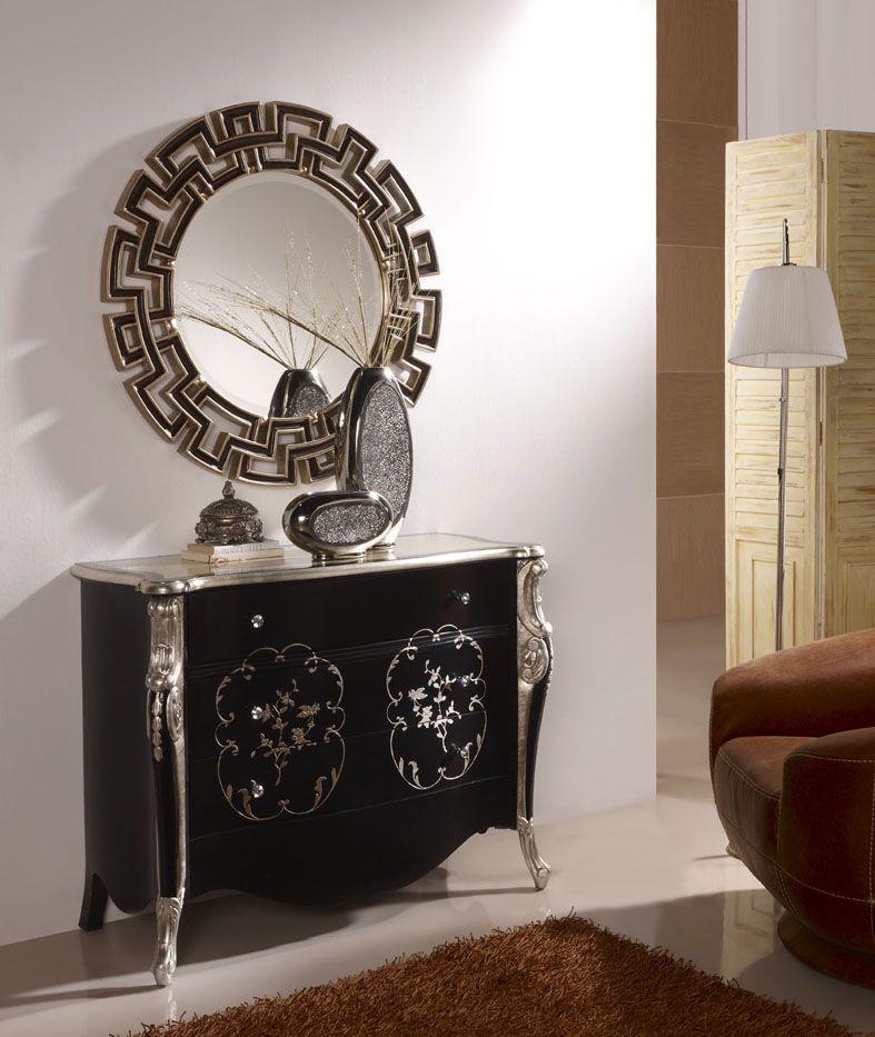 Espejos originales de dise o fauno decoracion beltran tu for Espejos originales recibidor