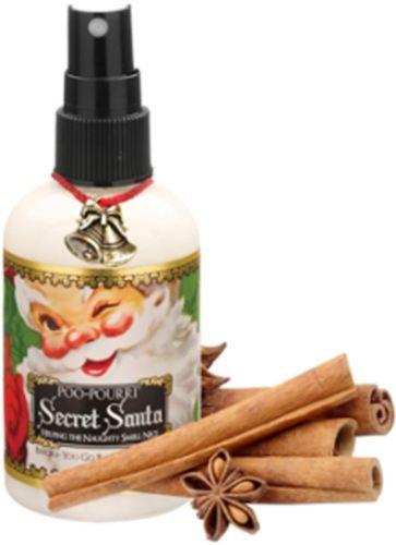 Secret Santa Claus Christmas Poo Pourri Bathroom Spray -2 Oz ...