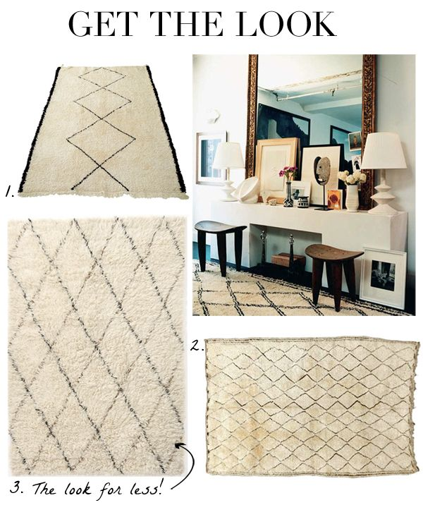 Obsessed With Finding An Affordable Beni Ourain Rug