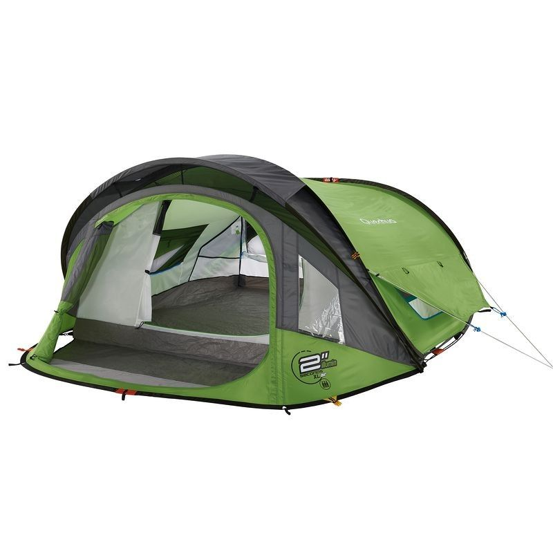All Tents - 2 Seconds XL Air Illumin III Pop Up Tent Green  sc 1 st  Pinterest : coleman 4 person instant up tent - memphite.com