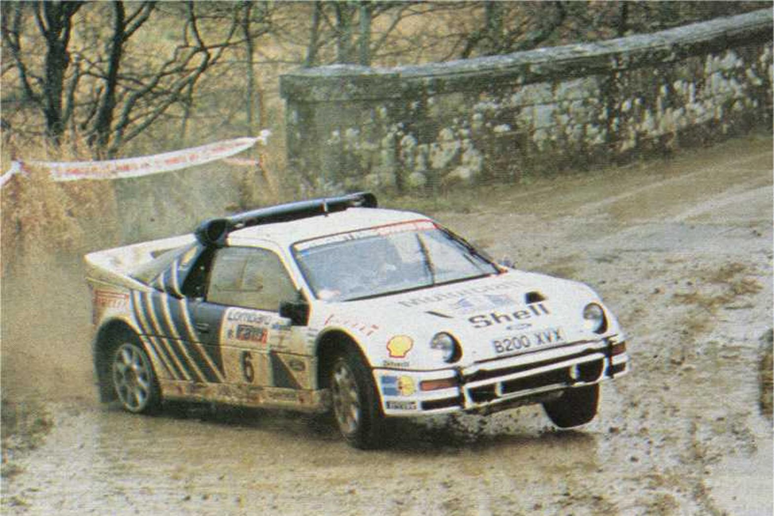 Ford Rs200 Group B Rally Rally Car Top Cars Ford Rs