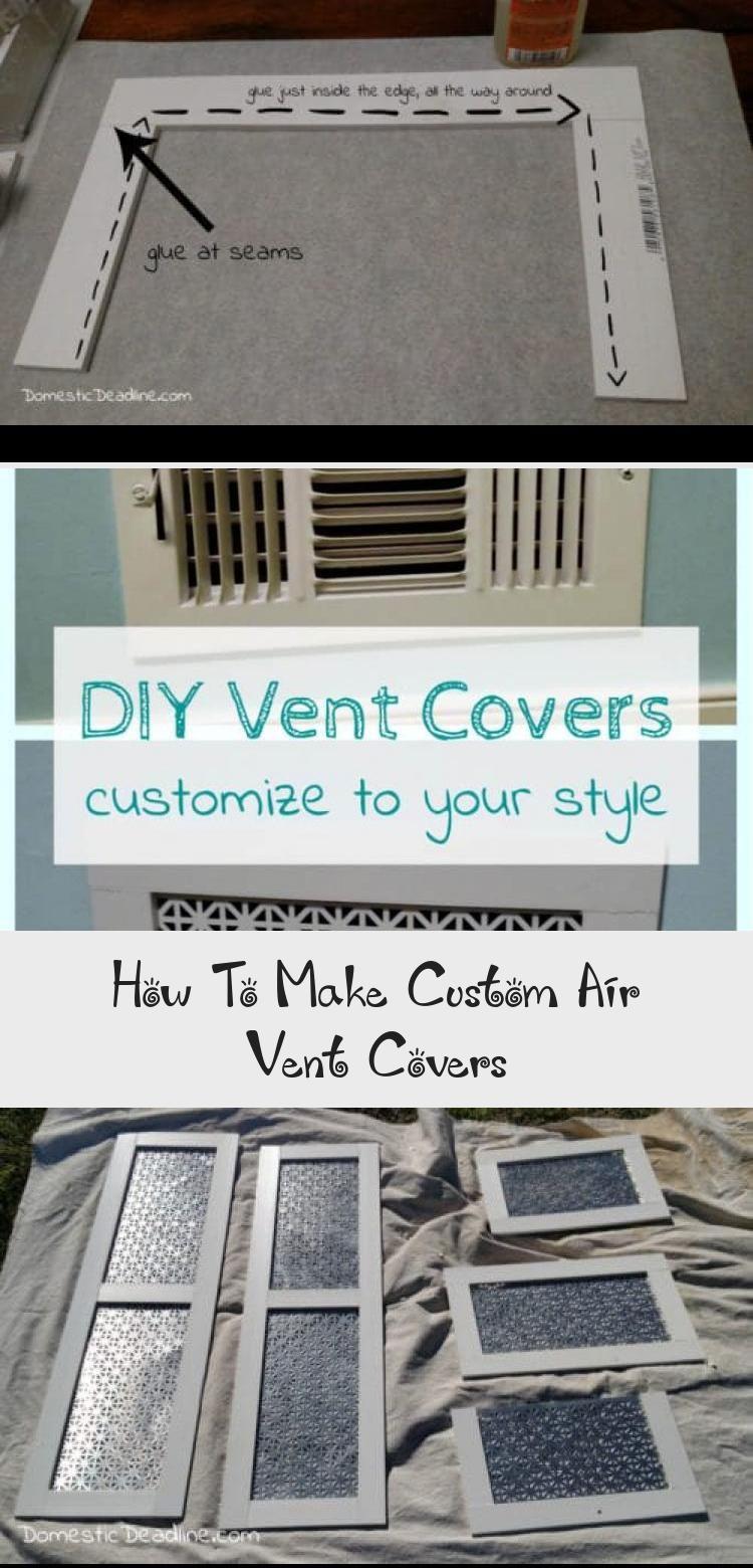 How To Make Custom Air Vent Covers Pinokyo in 2020 Air