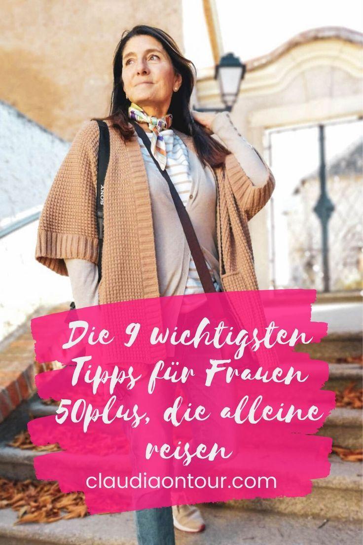 Alleine reisen als Frau  über 50 ist für viele eine Herausforderung. Hier findest du 9 wichtige Tipps für eine Städtereise alleine. #alleinereisen #soloreisen #50plus