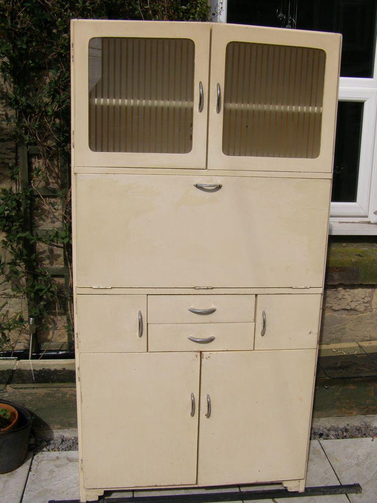 1950s Hygena Kitchen Larder Cabinet Cupboard Vintage Retro Project ...