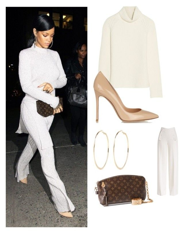 """My First Polyvore Outfit"" by zizie-tengku-adney ❤ liked on Polyvore featuring Antonio Berardi, Gianvito Rossi, River Island, Derek Lam and Louis Vuitton"