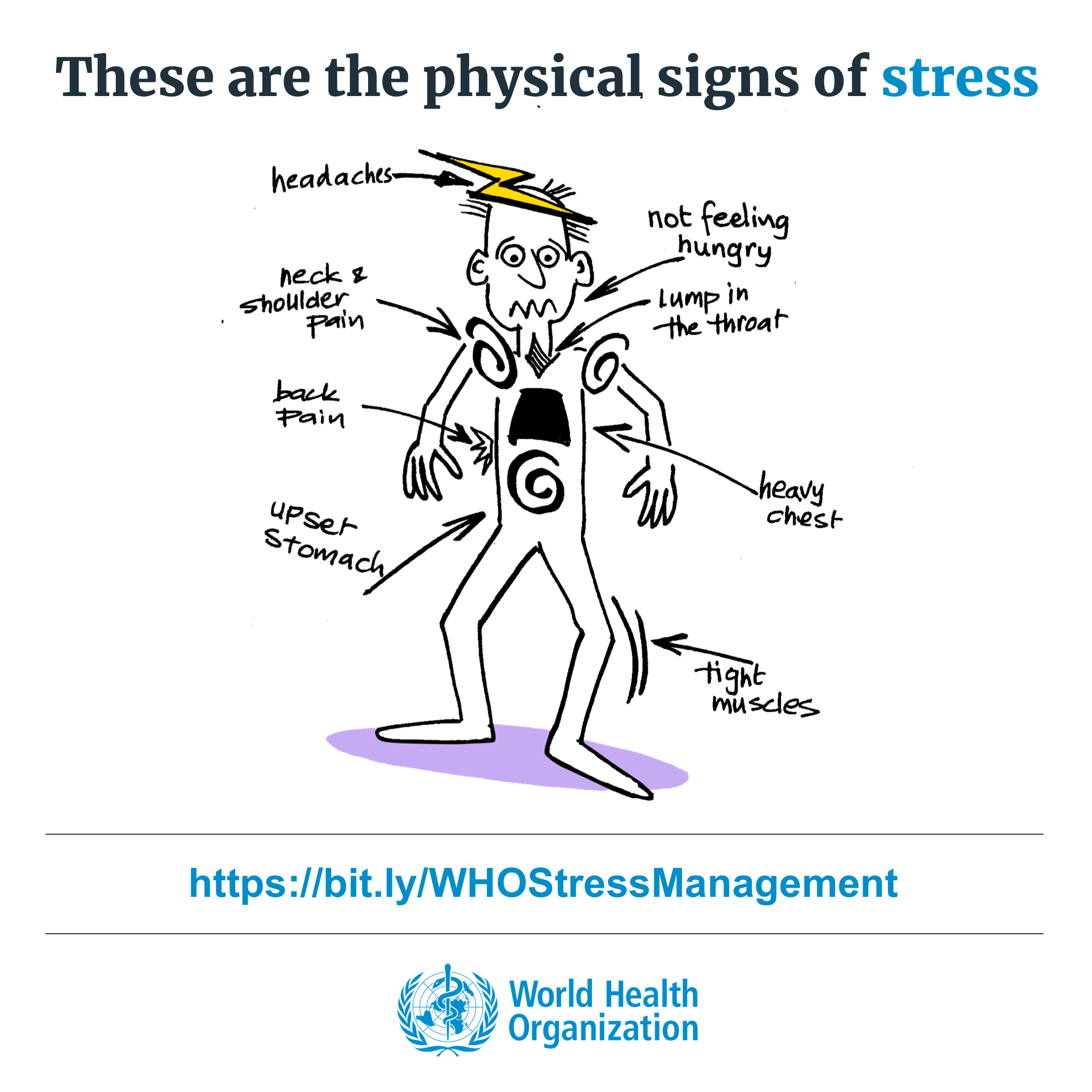Physical Signs of Stress in 2020 | Signs of stress, Stress ...
