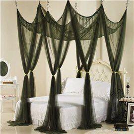 19+ Dark canopy bed curtains ideas