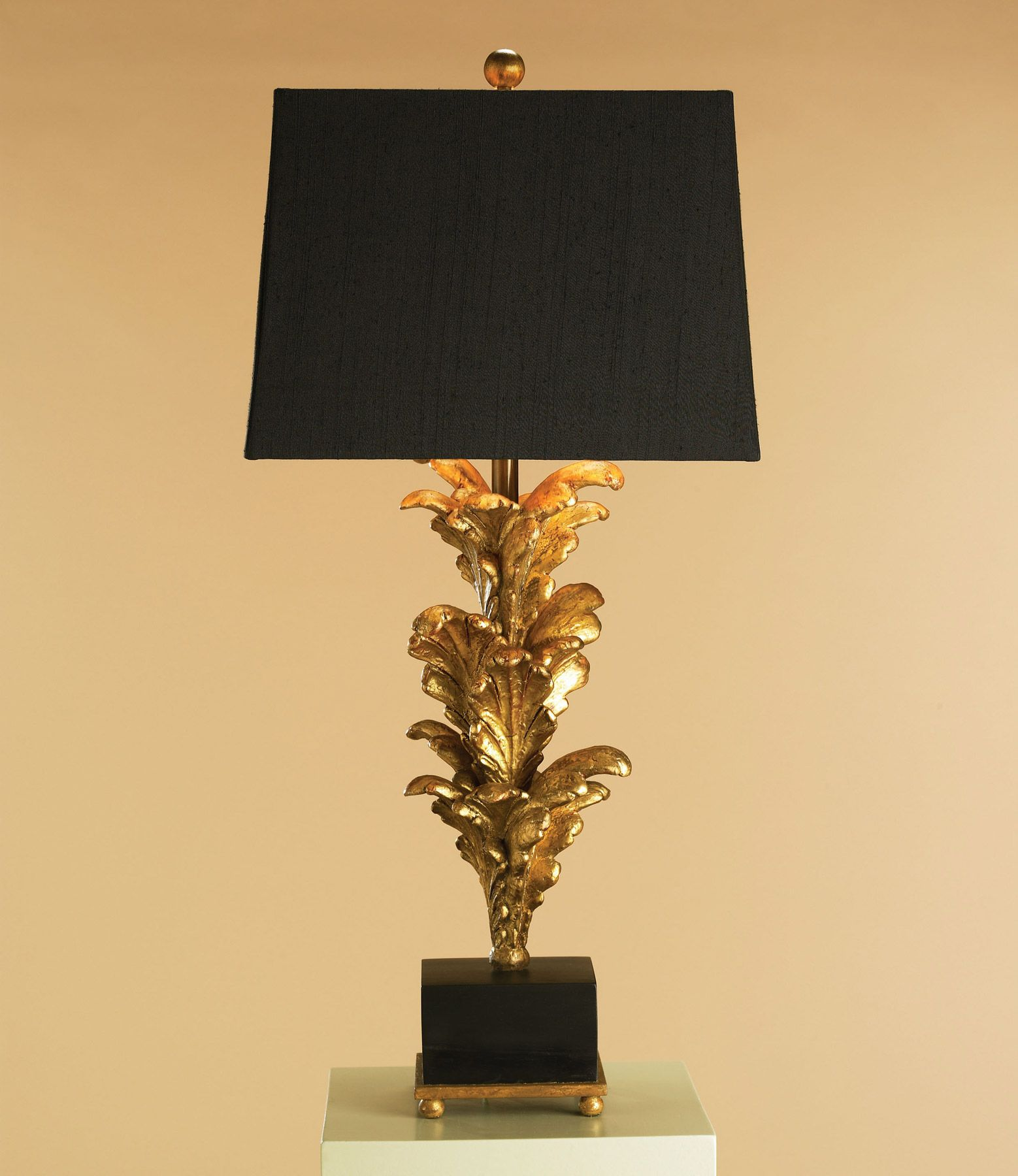 Currey and company 6121 renaissance 1 light table lamp black and currey and company 6121 renaissance 1 light table lamp black and gold leaf finish and a black linen shade with gold lining google search aloadofball Gallery