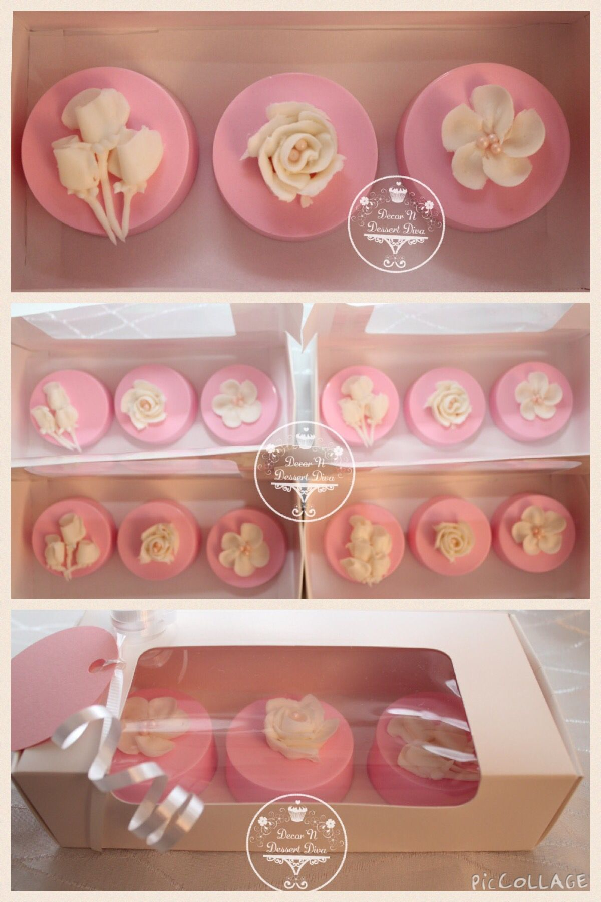 Pink chocolate covered Oreos | Pops, oreos & pretzels | Pinterest ...