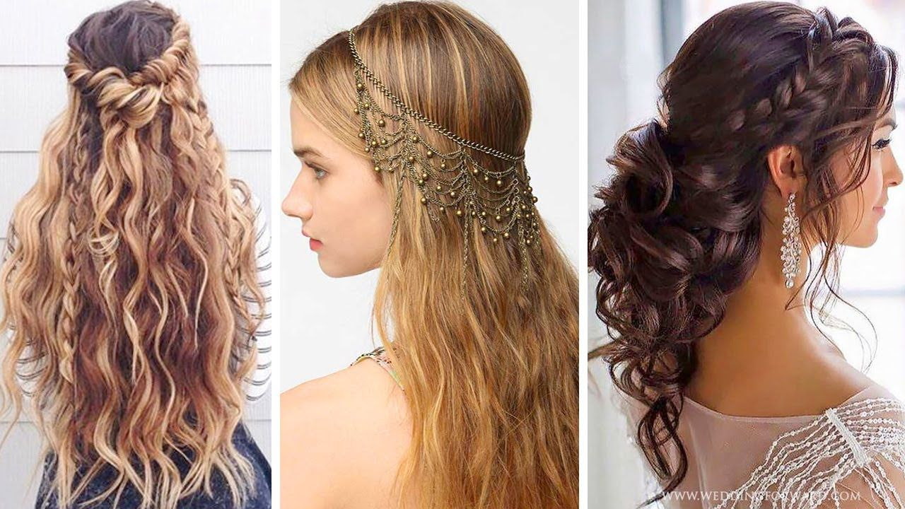 20+ beautiful hairstyles for party | the most beautiful