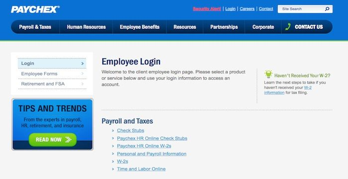 Paychex Employee Login | Login Archives | Human resource