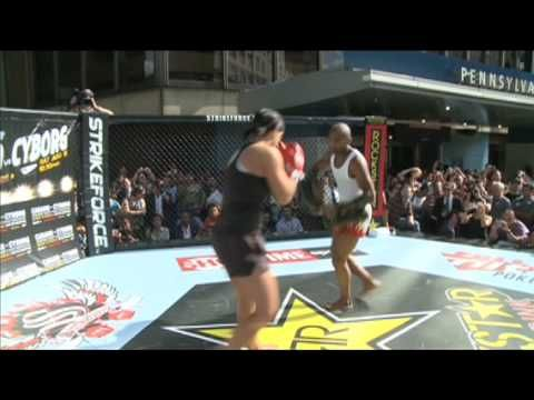 nice Gina Carano - Madison Square Garden Workout - Extended Clip