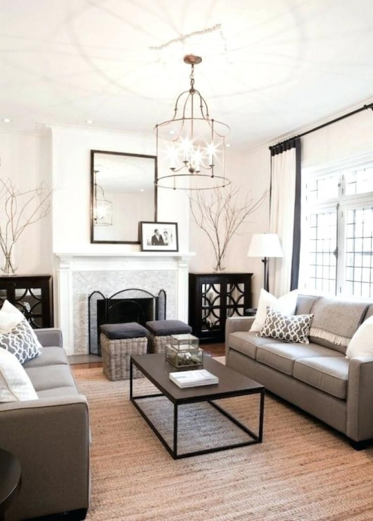 7 Warm and Comfortable Living Room Designs #livingroomfurniture #comfortable #living #room #furniture